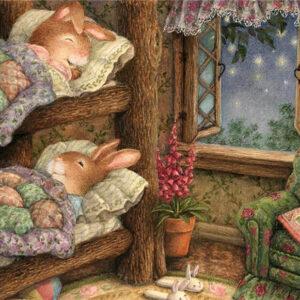 ארנבונים במיטה