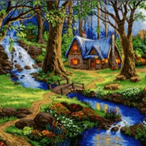 בית בצל העצים- יהלומים מלא