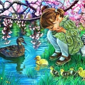 מבט על שיירת ברווזים - יהלומים מלא