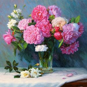 פרחים חיים (ללא מסגרת)