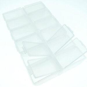 קופסא לאחסון יהלומים - 12 תאים