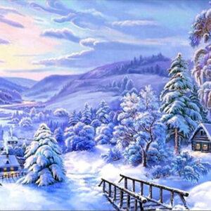 שלג בגבעה - יהלומים מלא