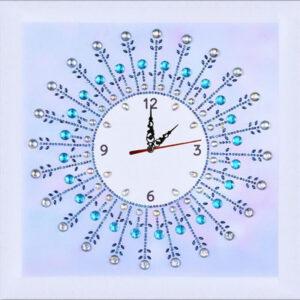 שעון דגם קריסטל - יהלומים חלקי