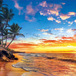 שקיעה על החוף