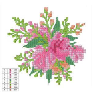 יצירת יהלומים לקטנטנים - פרחים
