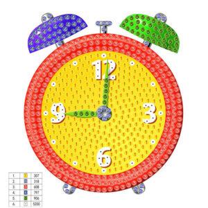 יצירת יהלומים לקטנטנים - שעון
