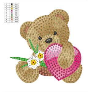 יצירת יהלומים לקטנטנים - דובי