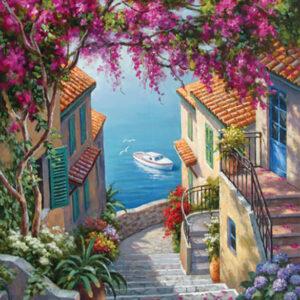 מדרגות לים