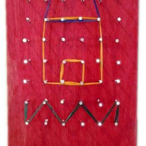 לוח משחק גומיות- גילאי 7-11