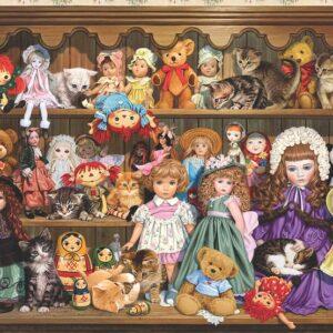 פאזל 500 חלקים - אוסף הבובות שלי