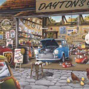 פאזל 500 חלקים - המוסך של דייטון