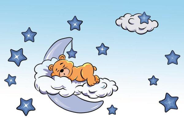 צביעה לפי מספר דובי בכוכבים כחולים