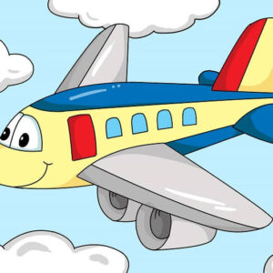 צביעה לפי מספר מטוס חייכן