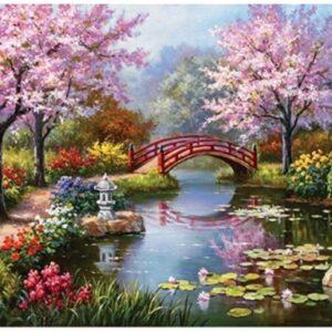 נהר עם גשר