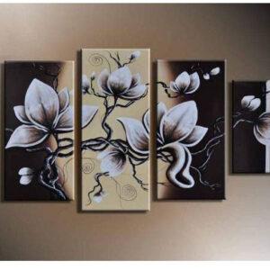 שלישיית פרחים מצויירם