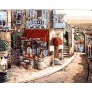 צביעה לפי מספר טיול בעיר העתיקה