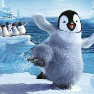 צביעה לפי מספר ריקוד הפינגווין
