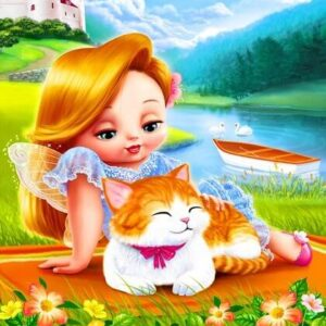 צביעה לפי מספר בטי והחתלתול