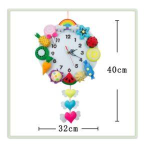 שעון מטבח פירות במילוי אורלון