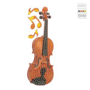 כינור יצירה ביהלומים