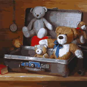דובים במזוודה