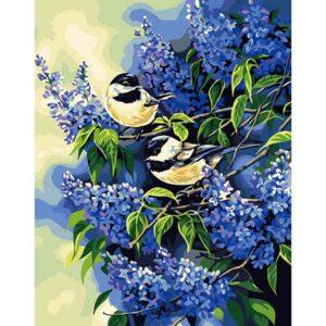 ציפורים על ענף