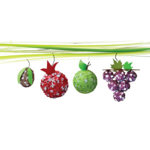 יצירת פירות תלת מימד לסוכה