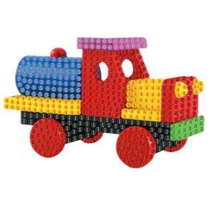יצירה ביהלומים מדבקה לקטנטנים משאית