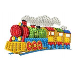 יצירה ביהלומים מדבקה לקטנטנים רכבת