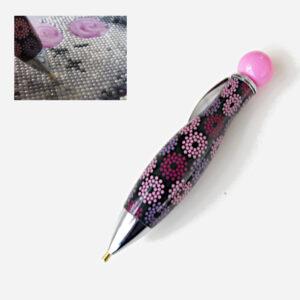 עט ליצירת יהלומים מעגלים כהה