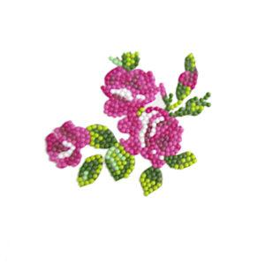 יצירה ביהלומים לקטנטנים פרחים מדבקה