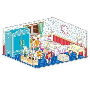 פאזל תלת מימד - חדר ילדים מפואר