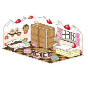 פאזל תלת מימד - חדר הממתקים
