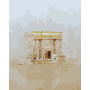 Tifara צביעה לפי מספר בית המקדש